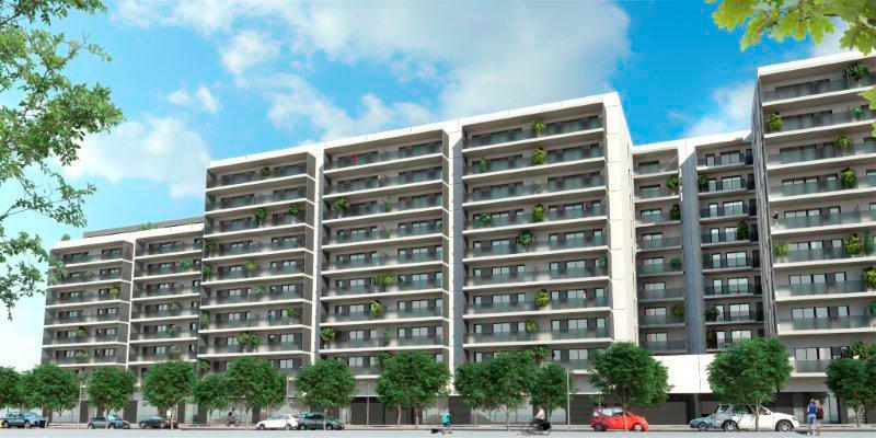 Lh remunta terraces pisos en l 39 hospitalet de llobregat - Pis proteccio oficial barcelona ...